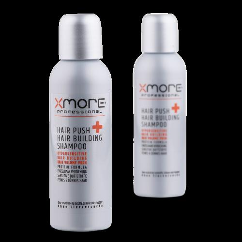 Xmore Hair Push + Hair Building Shampoo