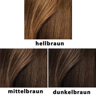 Die Farbpalette von hairfor2 Haarverdichtungsfasern