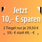 10€ sparen Button